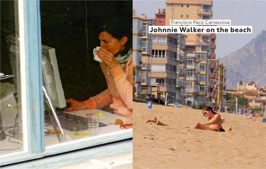 Francisco Paco Carrascosa: Johnnie Walker on the Beach